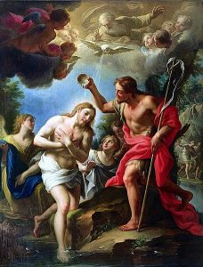 Rosary reflections – The Baptism of Jesus